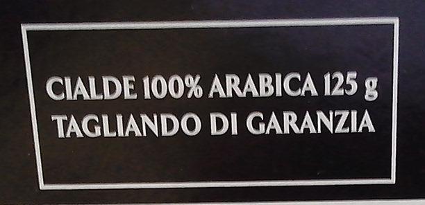 100% ARABICA - Ingredients - fr