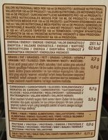 Oat barista bio - Nutrition facts - nl