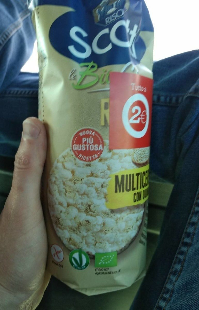 Galette multi-cereales - Producto - fr