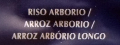 Riso arborio risotto - Ingredientes