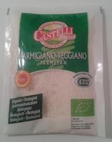 Parmigiano Reggiano AOP râpé Bio (28,4% MG) - 50 g - Castelli - Product - fr