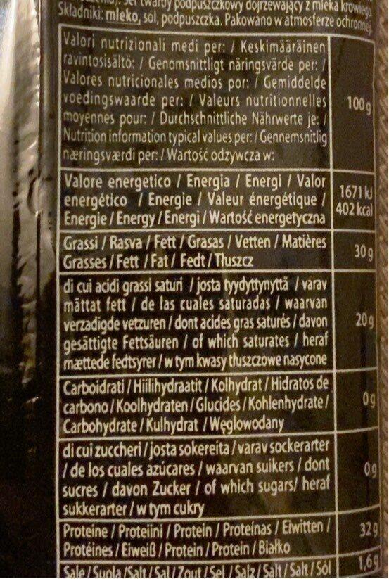 Parmesan Reggia 100G.Cast, - Nutrition facts - it