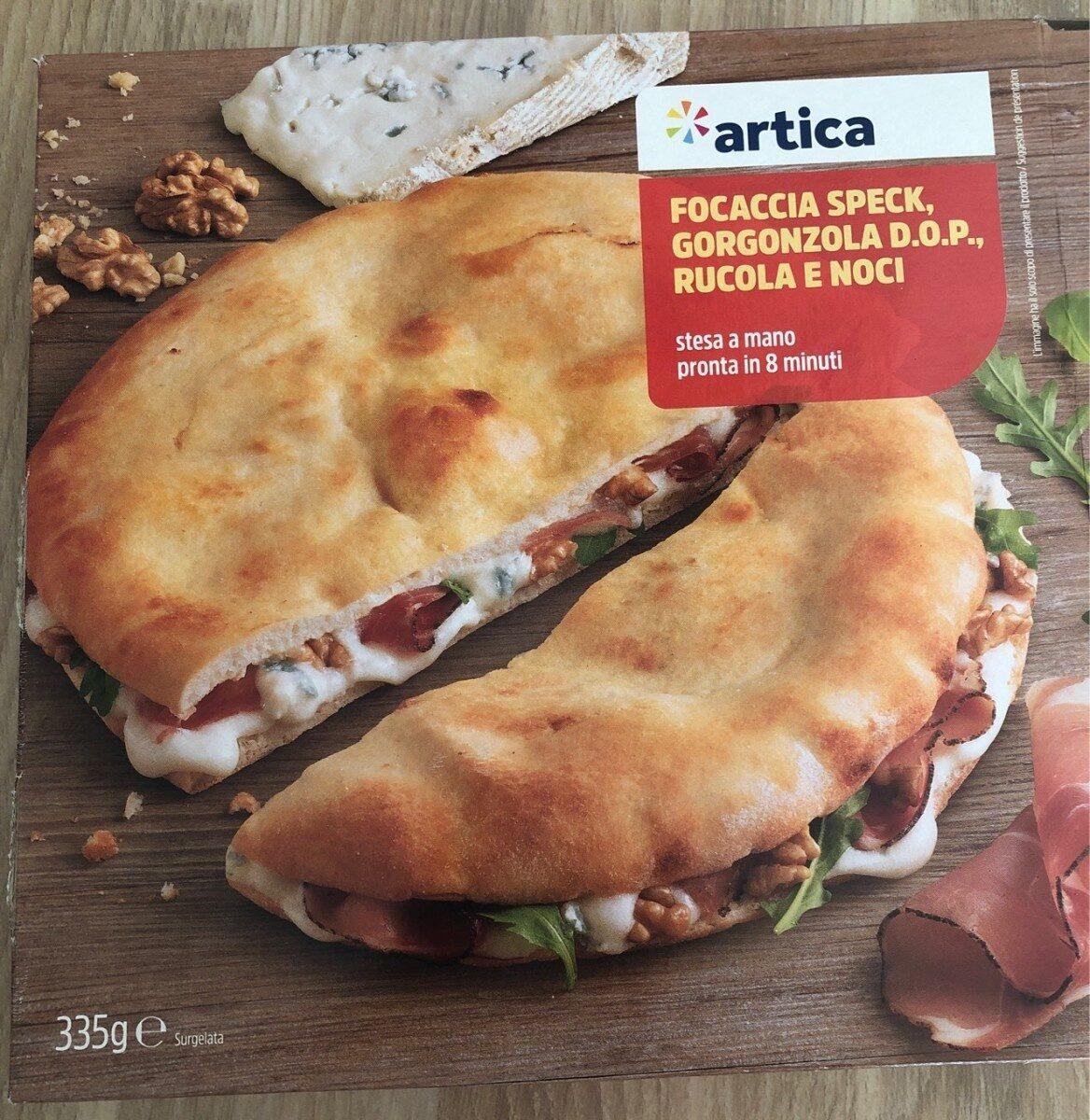 Foccacia - Produit - fr