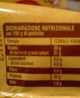 Biraghini gran Biraghi - Nutrition facts - it