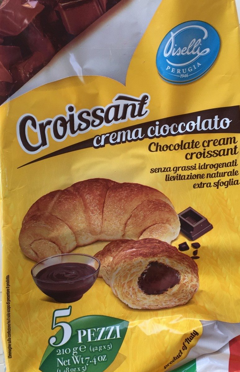 Lucky Croissant Crema Gianduia - Produit - fr