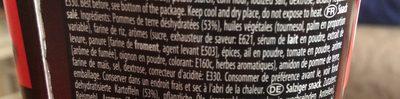 Crik crok - Ingredients