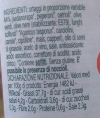 Le Magie dell'Orto RISO MIO - Ingrédients