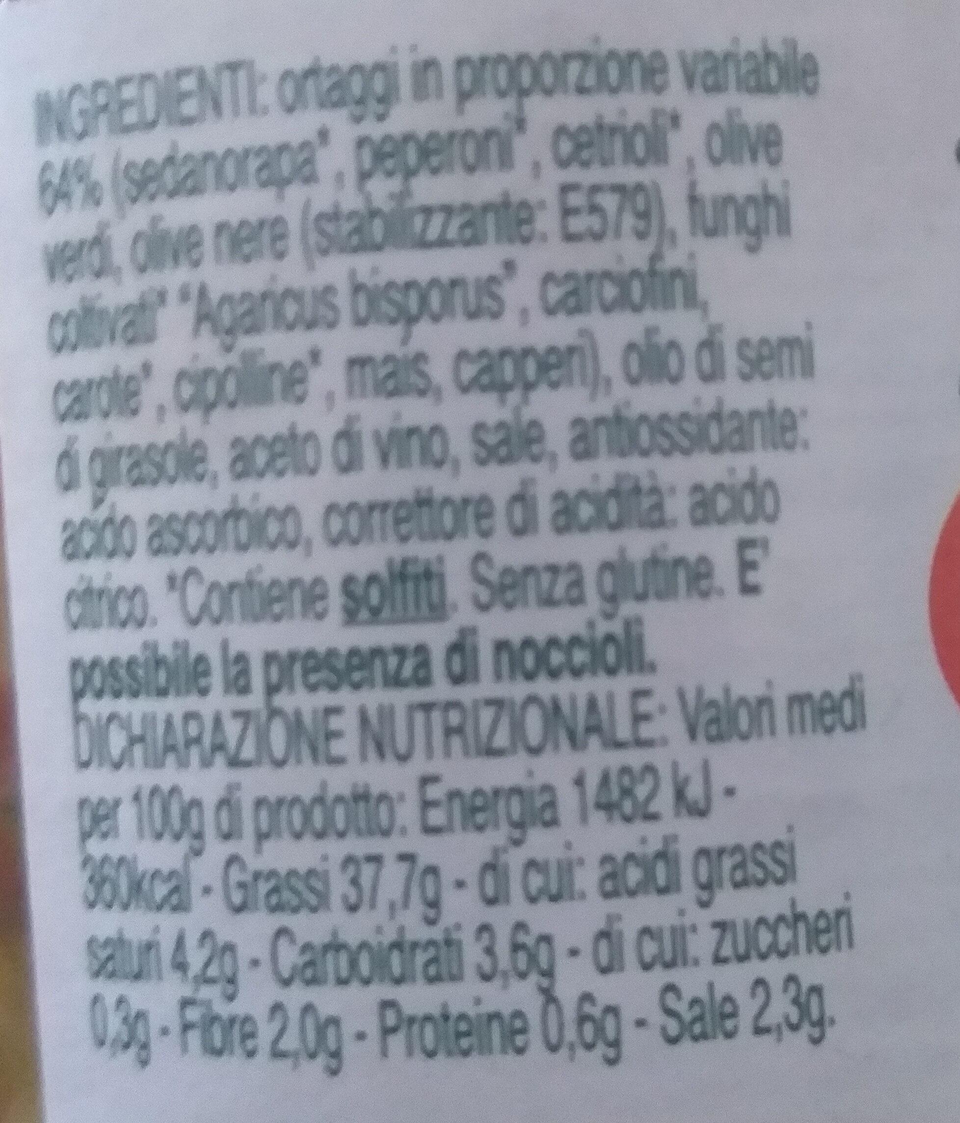 Le Magie dell'Orto RISO MIO - Ingrédients - it
