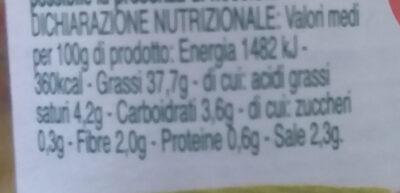 Le Magie dell'Orto RISO MIO - Informations nutritionnelles - it
