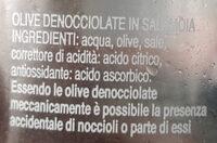 olive verdi denocciolate - Ingredienti - it