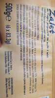 Zalet - Ingredients