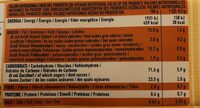 Zalet - Nutrition facts - fr