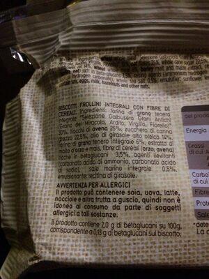 ColCuore - Ingrediënten