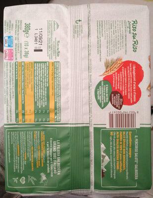 Risosuriso integrali - Ingredienti - it