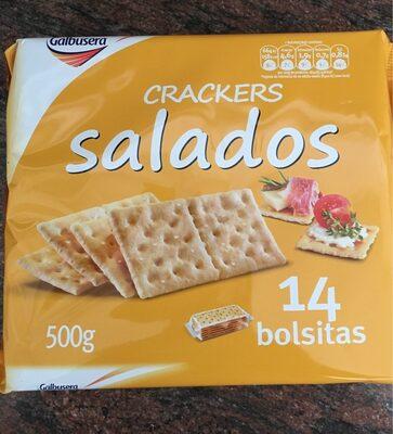 Crackers Salados - Produit - es