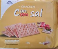 Crackers con Sal - Produit - es