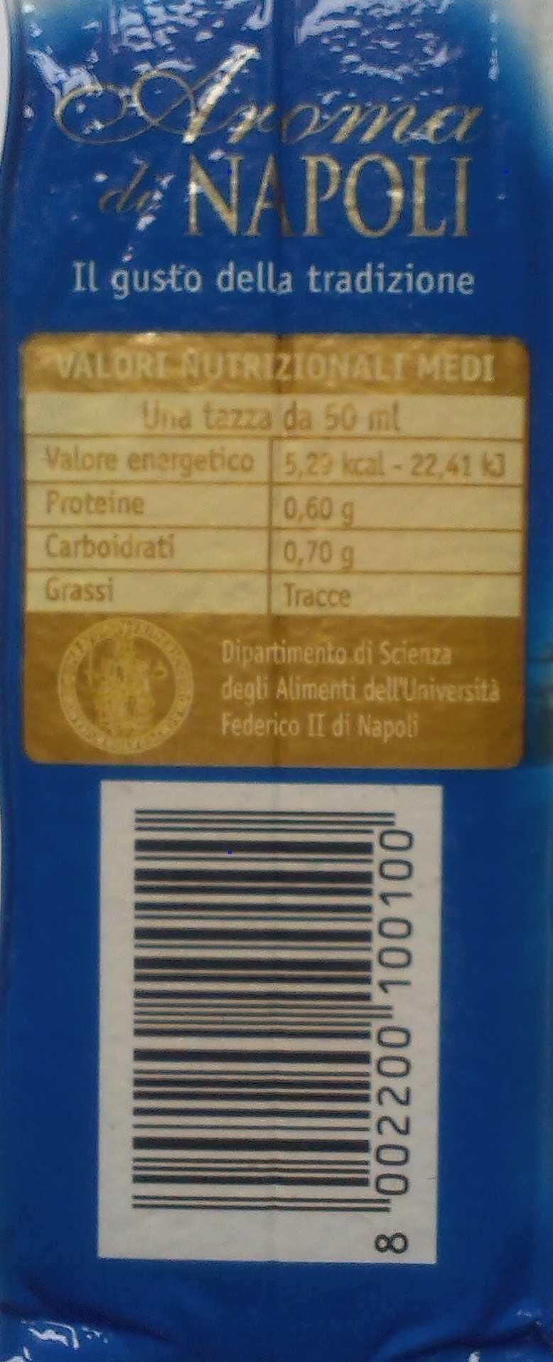 Aroma di Napoli - Ingredients - fr