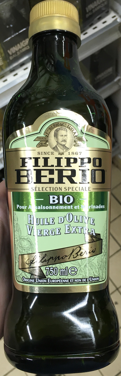Huile d'olive vierge extra bio - Product - fr