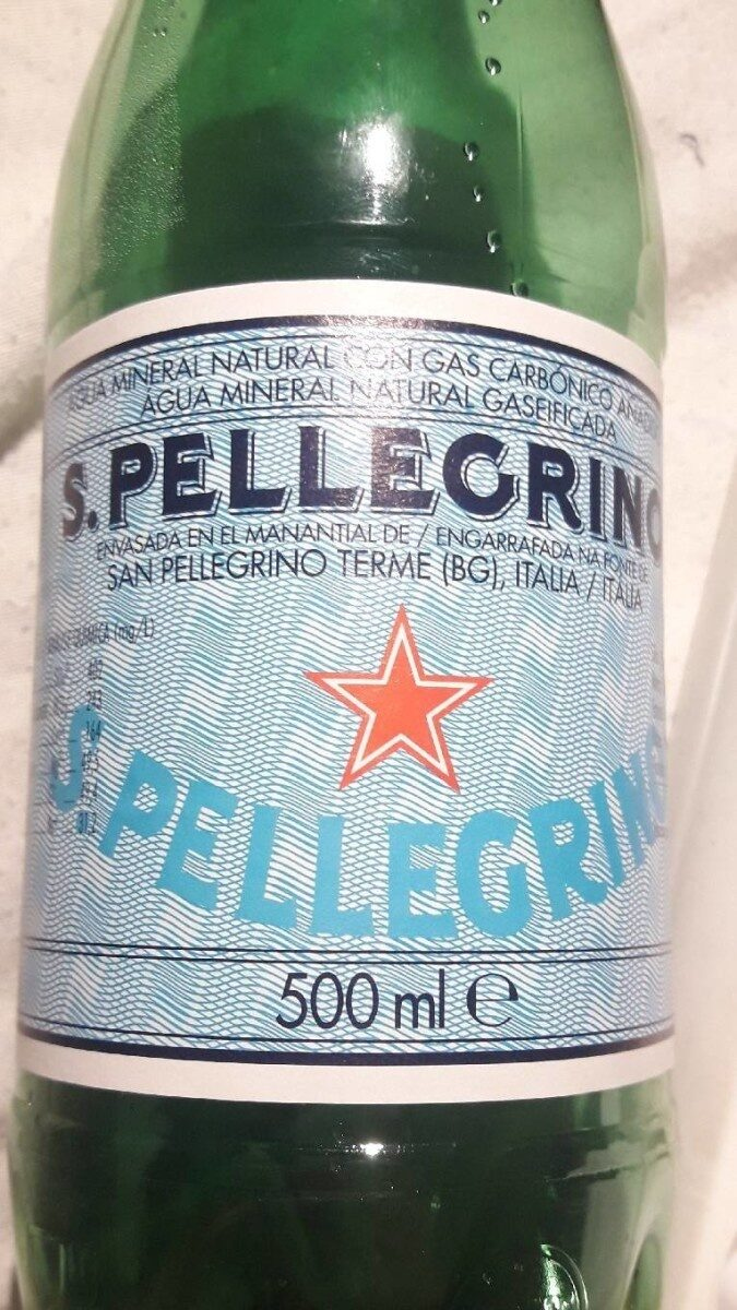 San Pellegrino Mineral Water - Producto