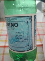 San Pellegrino Mineral Water - Ingredientes