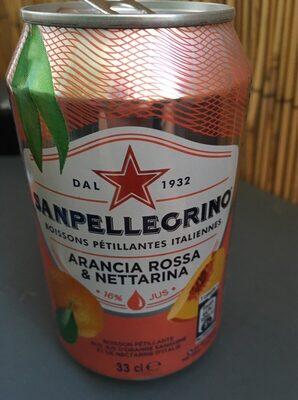 Sanpellegrino Arancia Rossa & Nettarina - Product