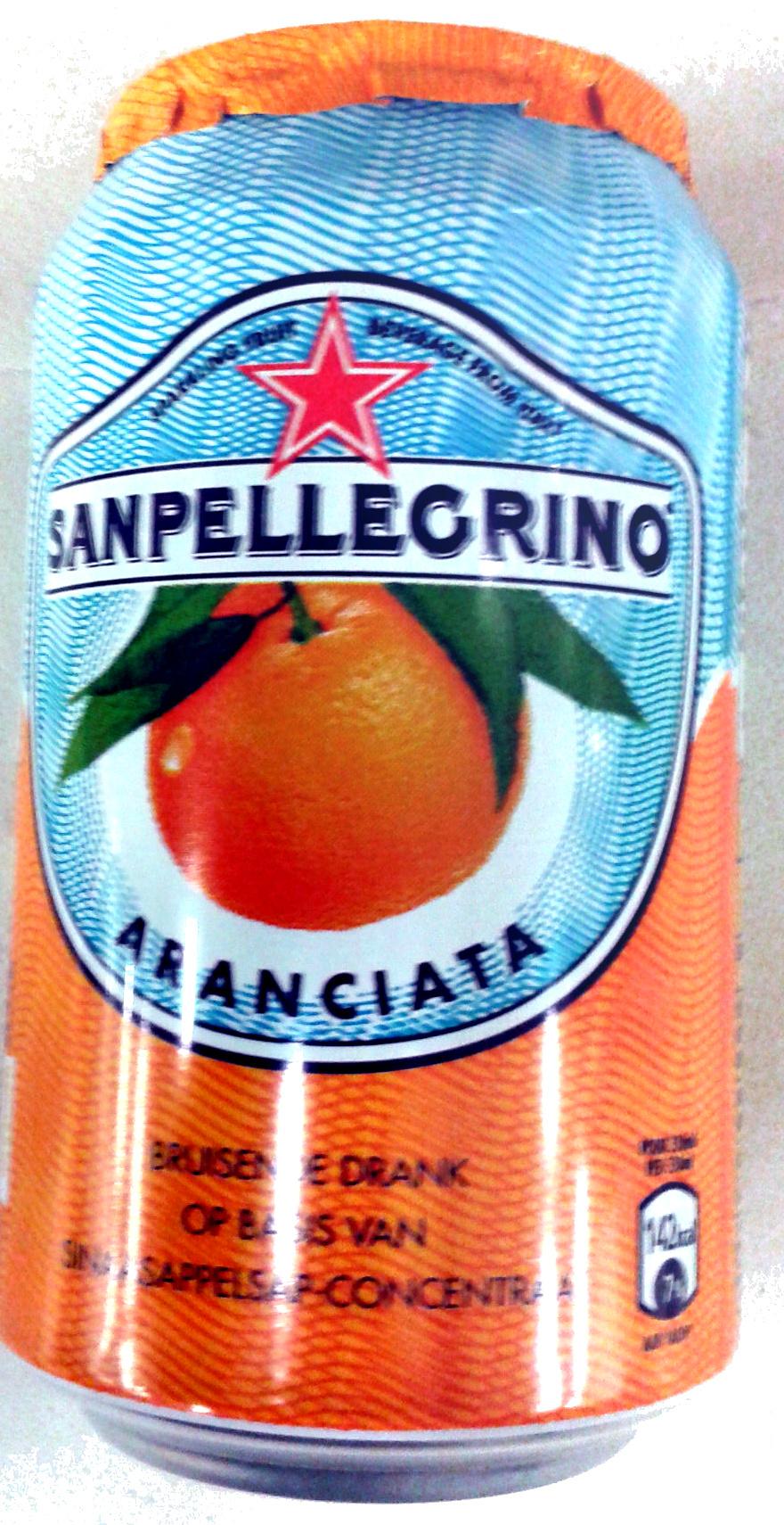 Boisson aromatisée pétillant orange - Produit - fr