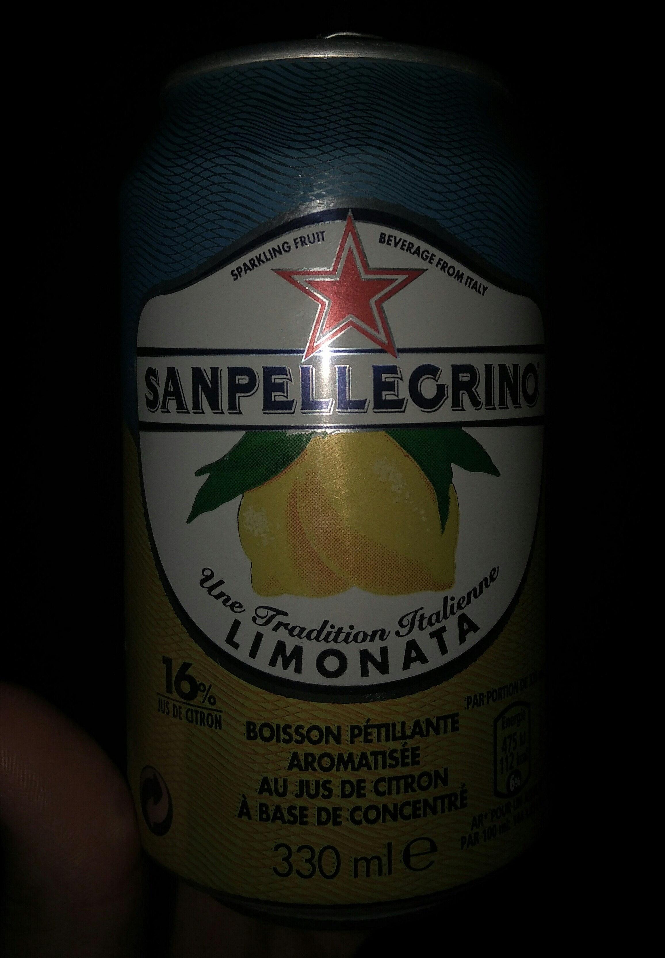 san Pellegrino limonata - Produit - fr