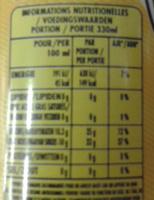 san Pellegrino limonata - Informations nutritionnelles - fr