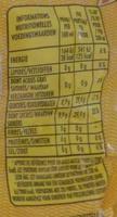 Limonata - Voedingswaarden