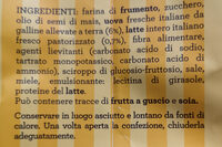 Frollini all'uovo - Ingrédients