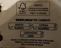 equilibrio yogurt magro 0% di grassi bianco - Istruzioni per il riciclaggio e/o informazioni sull'imballaggio - it
