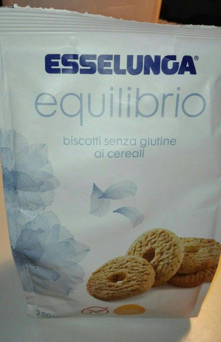 Biscotti senza glutine ai cereali - Prodotto