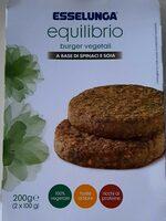 Burger vegetali Soia e spinaci - Product - it