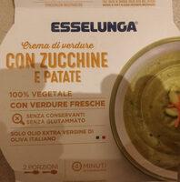 Crema di verdure con zucchine e patate - Produit - it