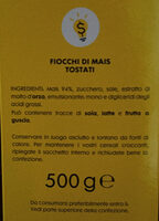 Corn Flakes - Fiocchi di Mais tostati - Ingredients - it