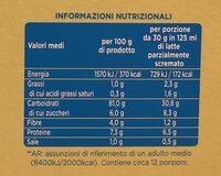 Fiocchi di mais - Voedingswaarden - it