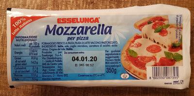 Mozzarella per pizza Esselunga - Product