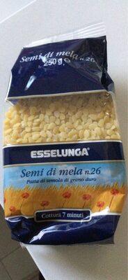 Pastina semi di mela - Produit - it