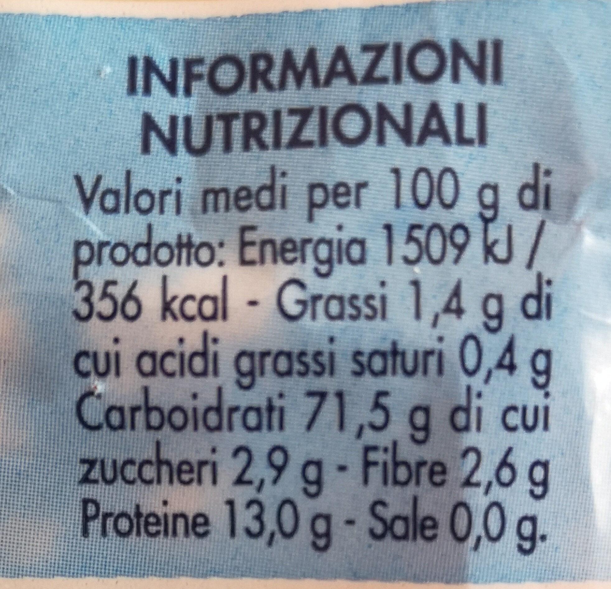 Semi di mela - Nutrition facts - it