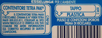 Latte - Recycling instructions and/or packaging information - it