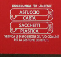 Riso basmati - Instruction de recyclage et/ou informations d'emballage - it