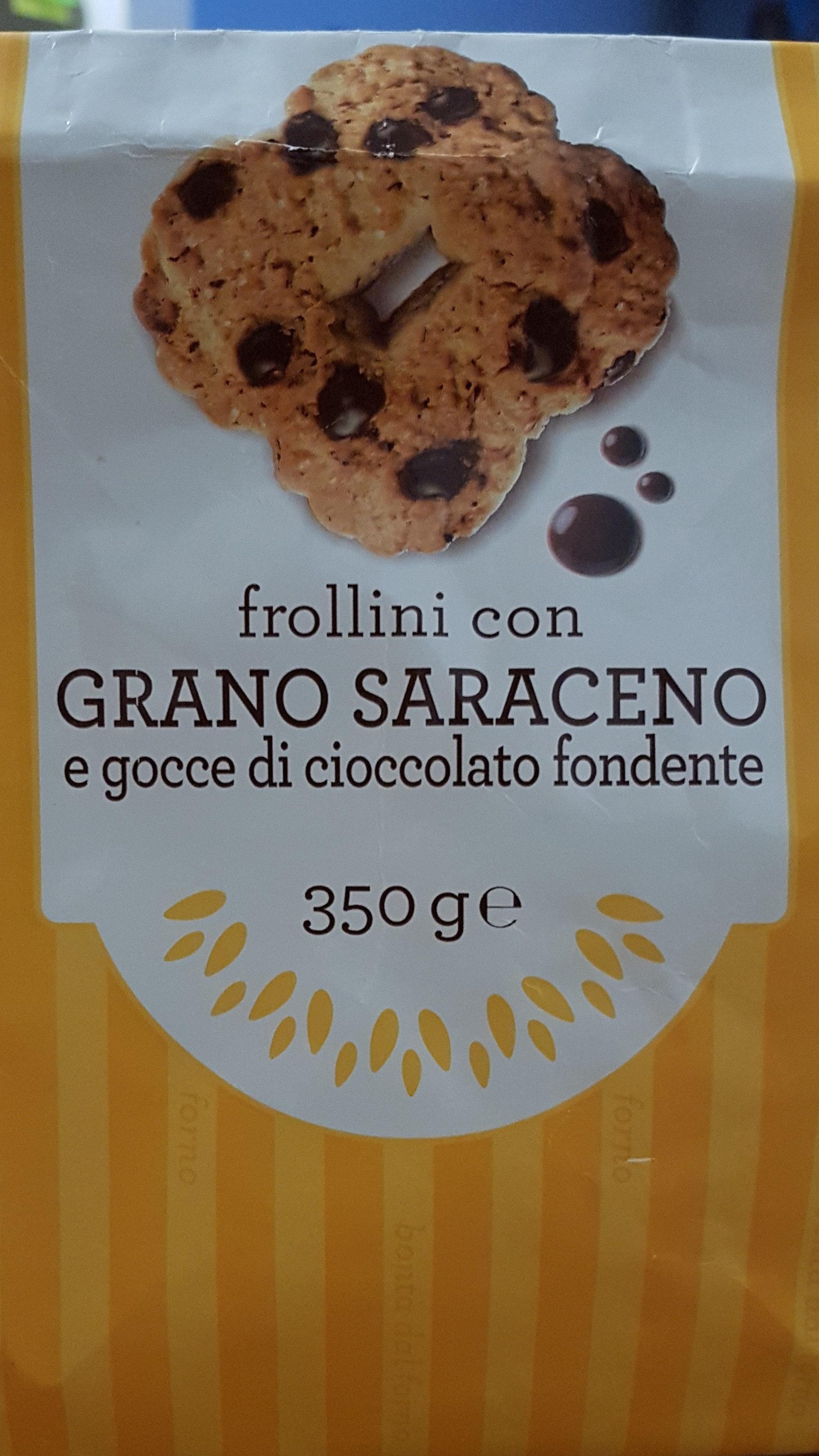 frollini con grano saraceno - Prodotto