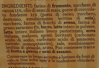 frollini con grano saraceno - Ingredienti