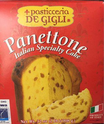 Panettone Italian Specialty Cake - Produit - fr