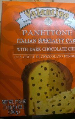 Panettone aux Pépites de Chocolat Noir - Produit