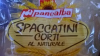 Spaccatini corti al naturale - Prodotto - it