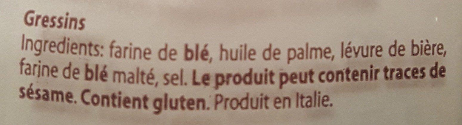 Spaccatini corti al naturale - Ingredienti - it