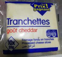 Tranchettes Goût Cheddar - Product