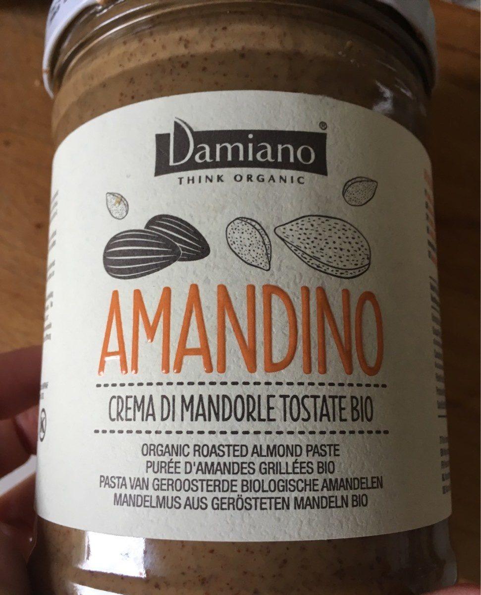 Amandino Purée Amandes Grillées bio - Product - fr