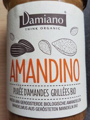 Amandino Purée d'amandes grillées Bio - Prodotto - fr